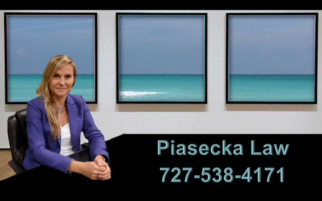 "Agnieszka ""Aga"" Piasecka Polski AdwokatSaint Petersburg, Florida U.S.A."